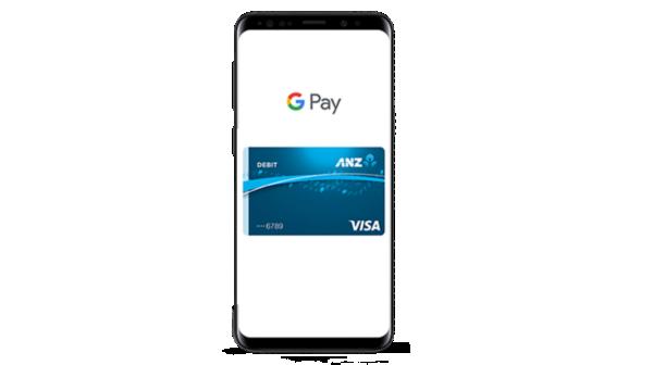 Google Pay on a Samsung phone