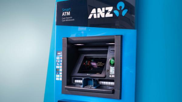 An ANZ ATM