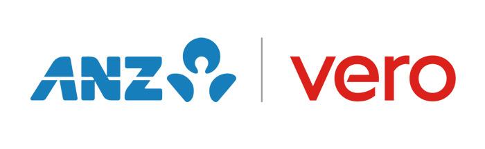 ANZ and Vero logos