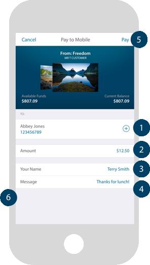 A photo of the ANZ goMoney app